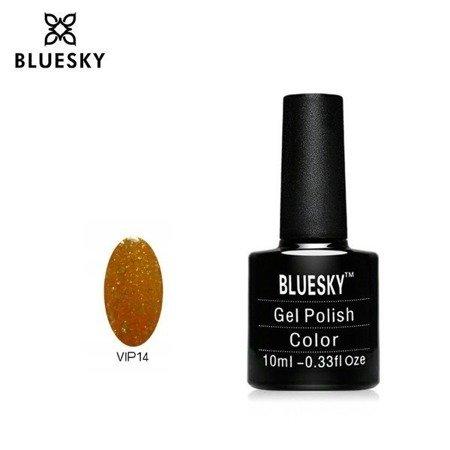 Bluesky XK 06 ORANGE GLITTER | Pzno / LAKIER HYBRYDOWY