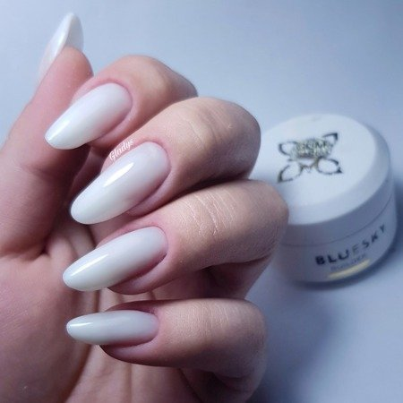 BLUESKY GUM GEL THICK 35ML - MILKY WHITE