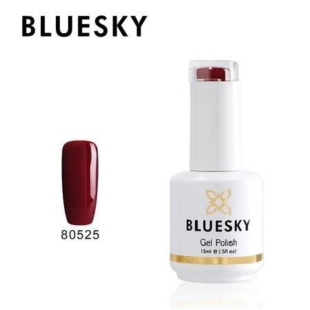 Bluesky Gel Polish 80525 Decadence Blood Red Maroon 15ml