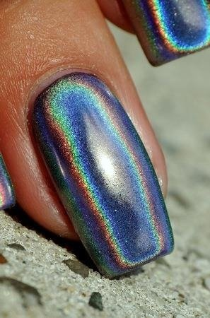BLUESKY HOLOGRAPHIC POWDER - 1 g