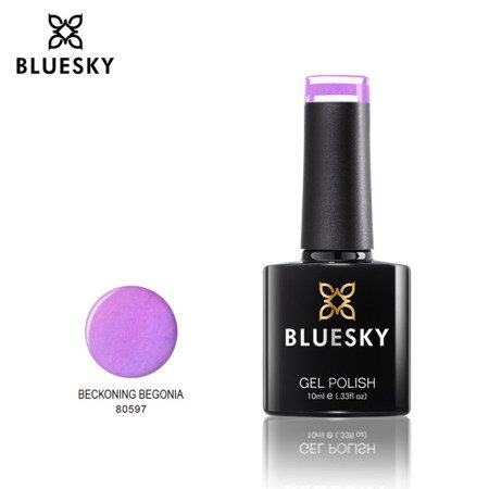Bluesky Gel Polish 80597 BECKONING BEGONIA 10ml