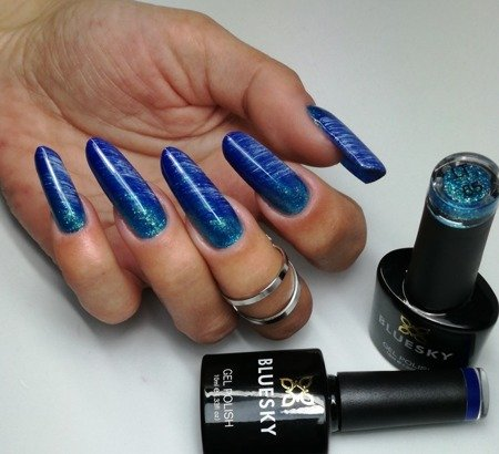 Bluesky LT65 ELECTRIC GLITTER BLUE